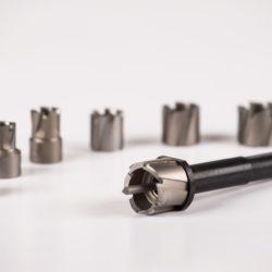 HSS hålfräs 6-20 mm – 6,35 mm syvyys